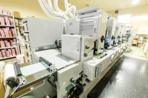 凸版印刷機 ALTO250-5間欠ロータリー