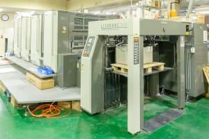 オフセット印刷機 リスロン水性ニスコーター仕様LSX429